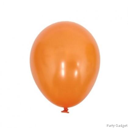 [100pcs] 5 inch Metallic Orange Small Latex Balloon