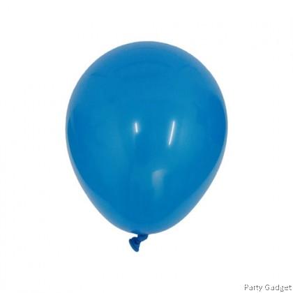 [100pcs] 5 inch Standard Dark Blue Round Small Latex Balloon