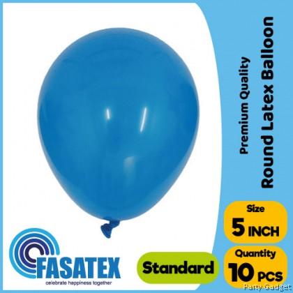 [10pcs] 5 inch Standard Dark Blue Round Small Latex Balloon