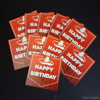 [10pcs] Happy Birthday Wish Card | Greeting Card | Gift Card | Mexico Theme