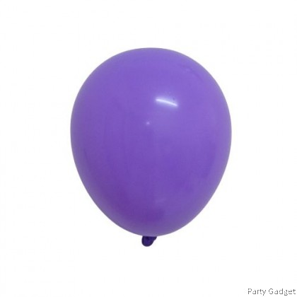 [100pcs] Fasatex 5 inch Standard Purple Round Small Latex Balloon