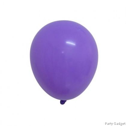 [25pcs] Fasatex 5 inch Standard Purple Round Small Latex Balloon